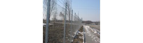 Horganyzott kerítéstáblák