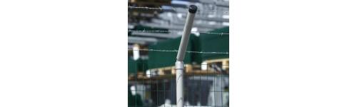 Oszlopok tekercses kerítéshez