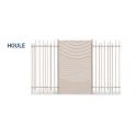 LEXIE HOULE dekoratív fémlemez --- elérhető 2020. februártól!
